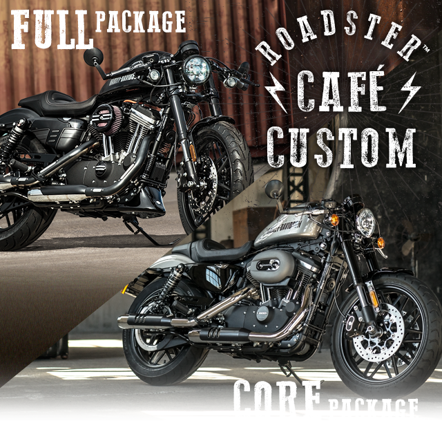 ROADSTER(TM) CAFE CUSTOM