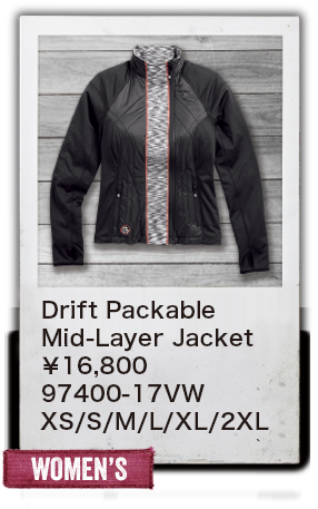 【WOMEN'S】Drift Packable Mid-Layer Jacket