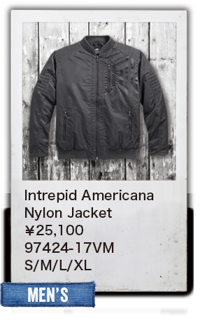 【MEN'S】Intrepid AmericanaNylon Jacket¥25,100  97424-17VM S/M/L/XL